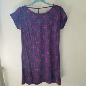 Roxy Open back Tshirt Dress